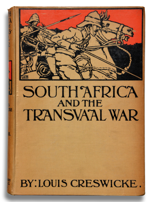 Creswicke south africa boer war transvaal buch book